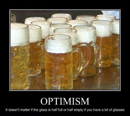 Optimism beer