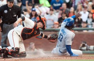 hanley-ramirez-buster-posey-mlb-los-angeles-dodgers-san-francisco-giants-850x560