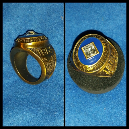 1965 World Champion replica ring